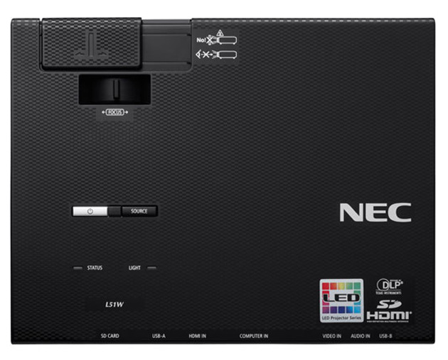 NEC lanza un nuevo proyector LED profesional con funciones inalámbricas