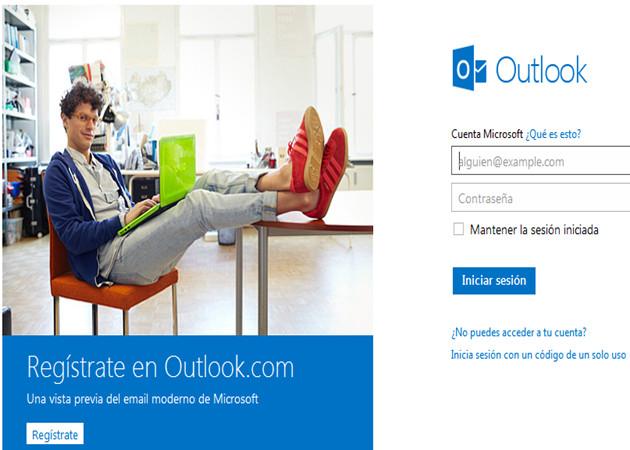 Outlook consigue diez millones de usuarios en dos semanas
