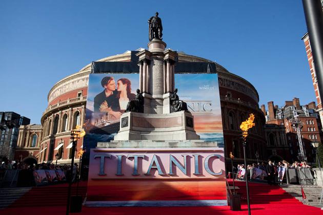 El estreno mundial de Titanic 3D fue proyectado con Christie Duo