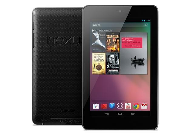 Nexus 7 adelanta su llegada a España a través de Google Play