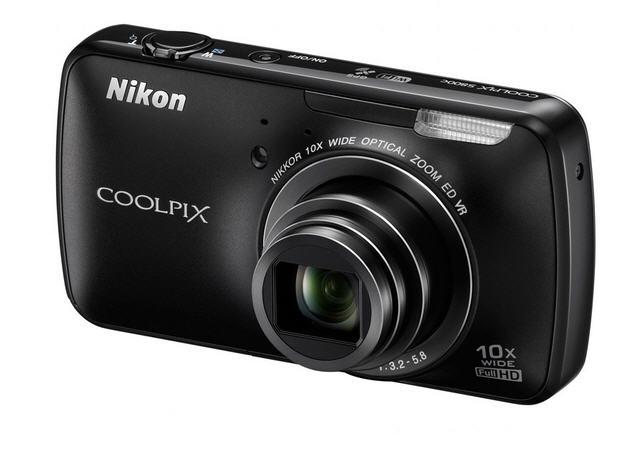 Nikon Coolpix S800c, una cámara potenciada por Android