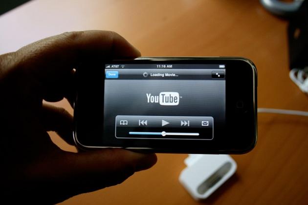 YouTube e iPhone