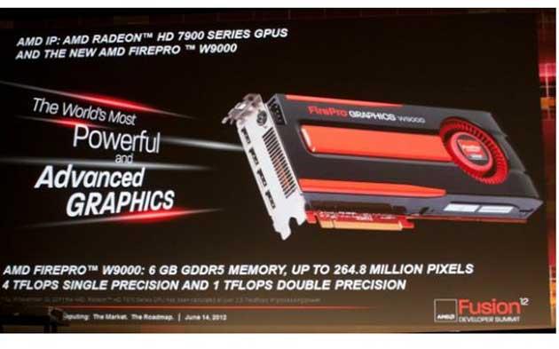 AMD demuestra la potencia de las gráficas FirePro W9000