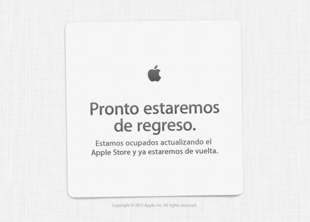 La Apple Online Store se viene abajo por la supuesta demanda del iPhone 5