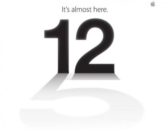 Apple envía invitaciones para la presentación del iPhone 5