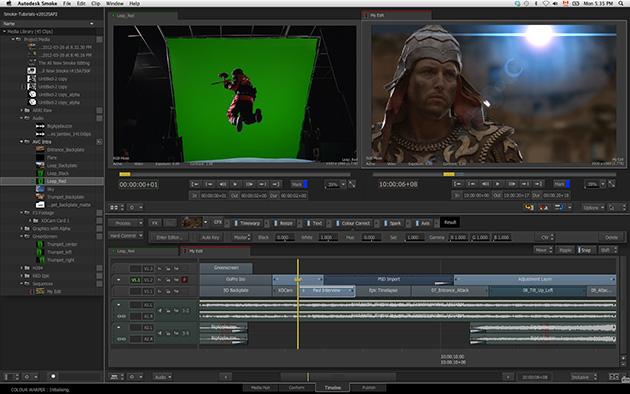 La versión de prueba de Autodesk Smoke 2013 atrae a miles de editores de vídeo
