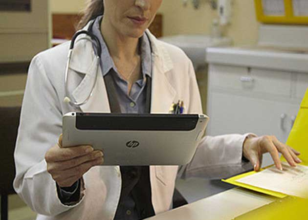 HP confirma tableta electrónica profesional con Windows 8