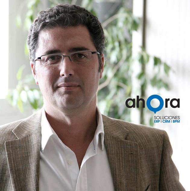 """Ignacio Herrero, de AHORA Soluciones: """"Con la crisis, los clientes compran mejor"""""""