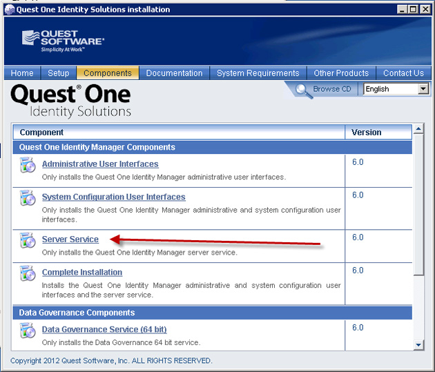 Quest One Identity Manager Data Governance Edition