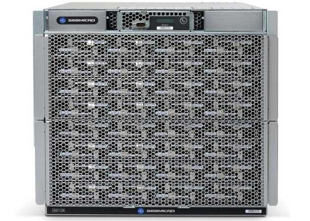 Servidor AMD SeaMicro soporta chips propios y también de su rival Intel
