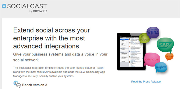VMware anuncia Socialcast Integration Engine