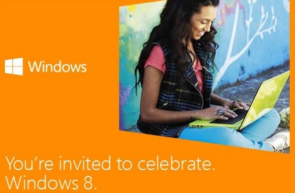 Microsoft programa evento Windows 8 el 25 de octubre