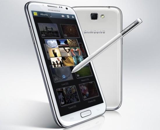 Samsung pone a la venta el phablet Galaxy Note II