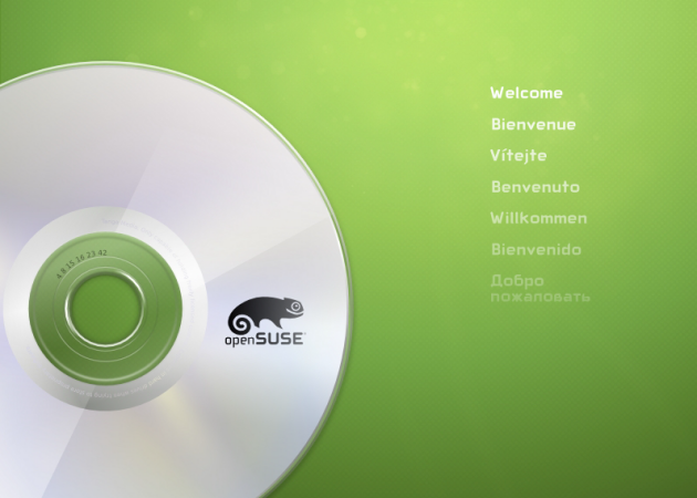 Disponible openSUSE 12.2