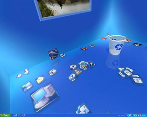 Navegando por el entorno de un desktop virtual