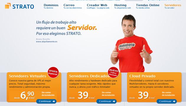 STRATO administra ya más de 50.000 servidores en sus centros de datos