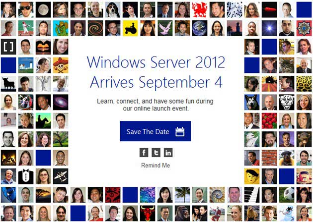 Hoy es el día de Windows Server 2012