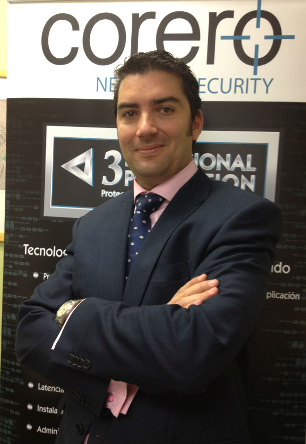 Alvaro Villalba, Ingeniero Preventa Senior  de Corero Network Security