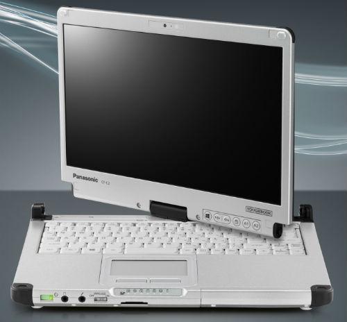 Panasonic presenta su primer PC Tablet con Windows 8, el Toughbook CF-C2