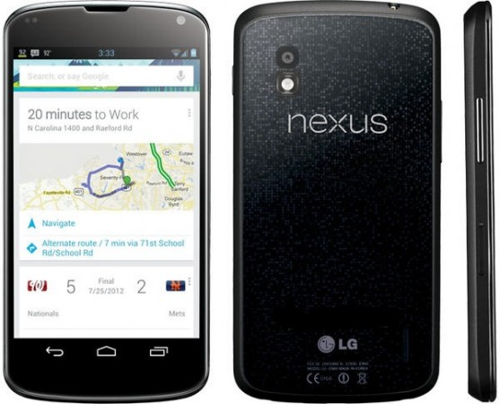 Google presenta nuevo smartphone y tablet Nexus