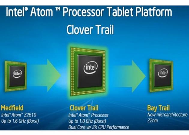 Intel amplía información de sus tabletas con Windows 8
