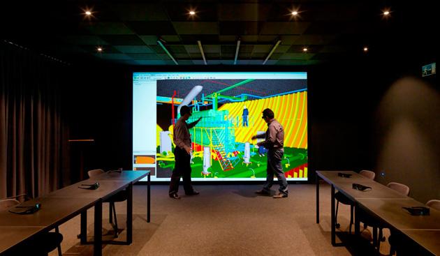 Christie, en el nuevo Centro de Diseño Virtual de Navantia