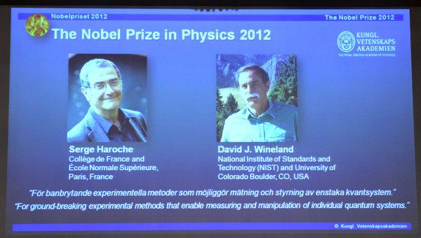 El Nobel de Física 2012 premia la investigación en computación cuántica