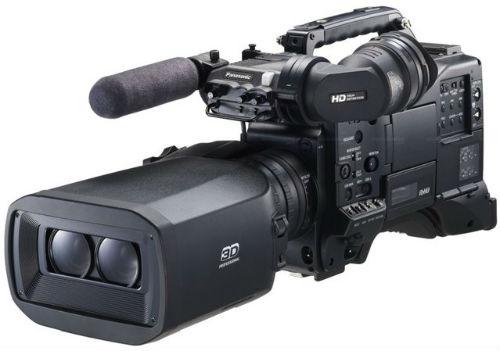 La Panasonic-AG-3DP1 fue la elegida para grabar el partido Real Madrid Barça