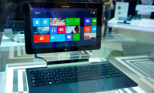 Tablet Samsung con Windows 8