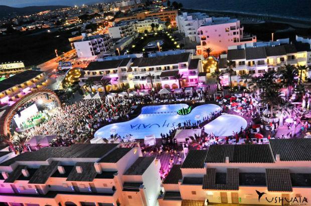 Ushuaïa Ibiza Beach Hotel, un hotel en el que se puede pagar con las huellas dactilares
