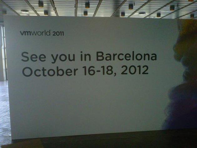 VMworld 2012 Europe espera más de 7.000 visitantes
