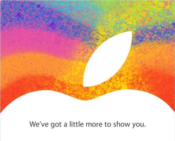 Apple confirma el iPad Mini con una conferencia el 23 de octubre