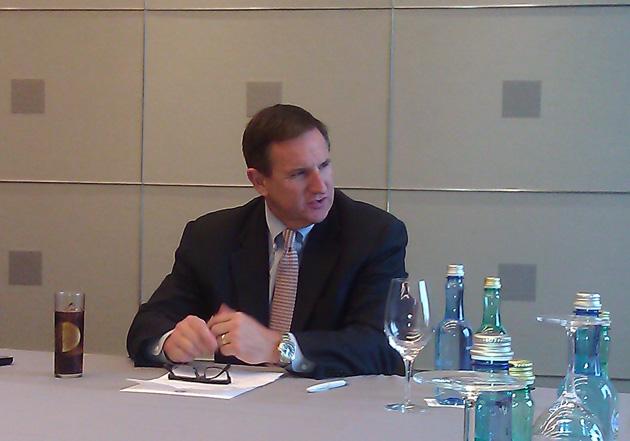 Mark Hurd, presidente de Oracle, visita España para presentar su estrategia
