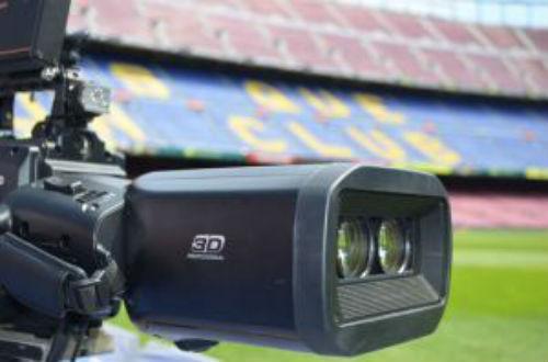 La cámara Panasonic-AG-3DP1 graba directamente en 3D