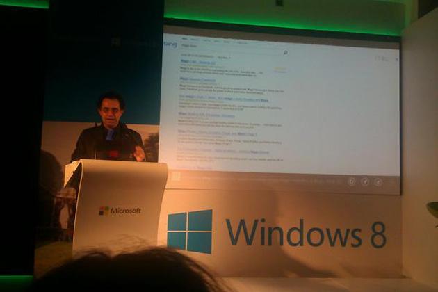 Presentación Windows 8