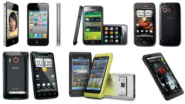 El 80% de móviles serán smartphones en 2015