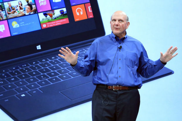 Ballmer: las ventas de Microsoft Surface han tenido un arranque modesto