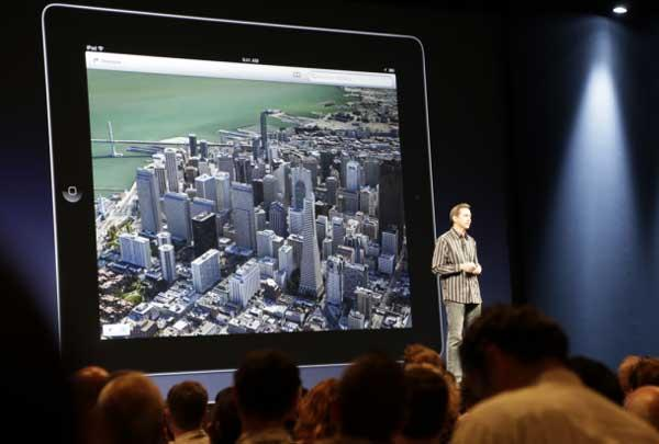 Apple despide al responsable de los mapas de iOS 6