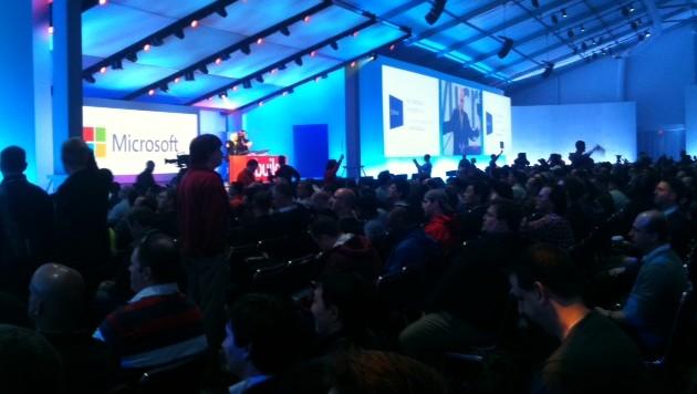 La conferencia de Microsoft BUILD 2012 ya está en marcha
