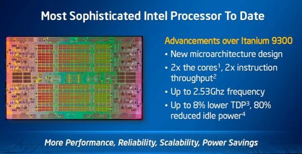 Intel Itanium 9500 Poulson 5 Intel lanza los procesadores Itanium 9500 Poulson