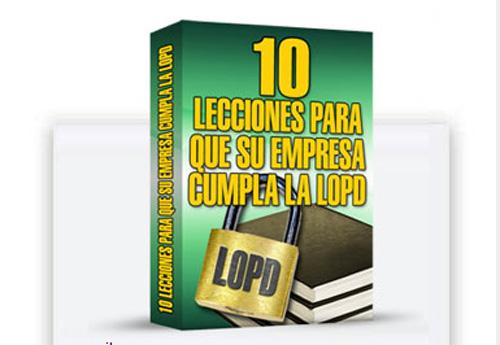 Lecciones LOPD