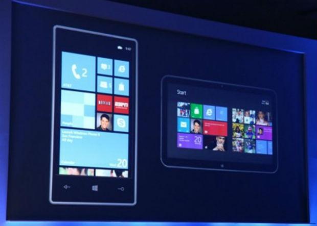 Microsoft prueba su smartphone