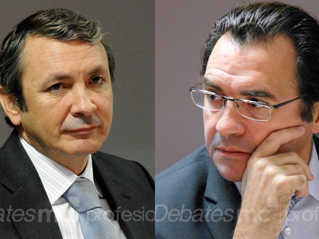 Luis Castro y Juan Luis Ruano, de ONO