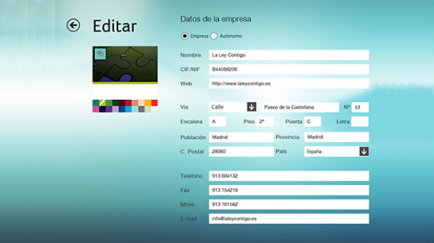 efactura online para Windows 8