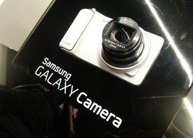 Samsung presenta en España la Galaxy Camera
