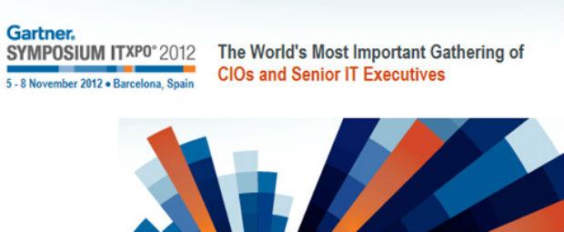 nueva edición del gartner symposium itxpo 2012 en Barcelona