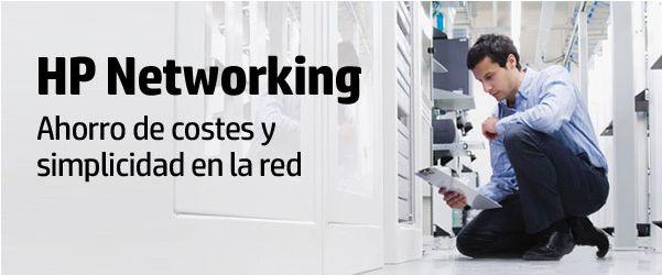 Ahorra costes y simplifica la red con HP Networking