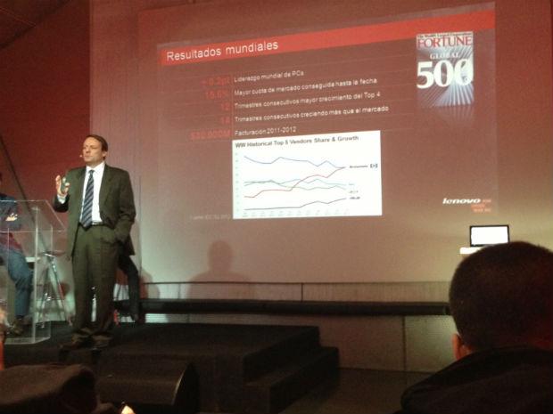 Lenovo quiere conquistar las ventas en España