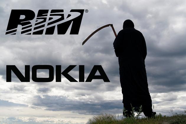 Nokia y RIM