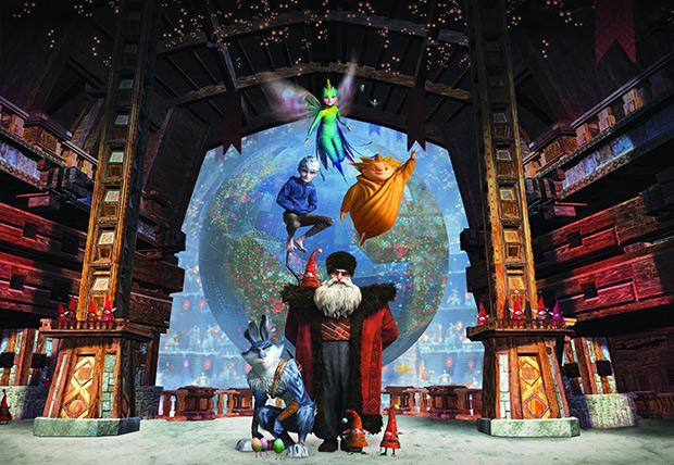 """HP y DreamWorks Animation juntos en """"El Origen de los Guardianes"""""""